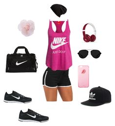 """Sport"" by mei-terumi ❤ liked on Polyvore featuring ファッション, NIKE, Free People, 3.1 Phillip Lim, Beats by Dr. Dre と adidas"