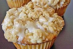 Marzipan - Apfel - Muffins mit Zimtstreuseln (Rezept mit Bild) | Chefkoch.de