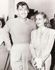 Clark Gable and Carole Lombard, C.1930's