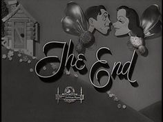 The end titles: Metro Goldwyn Mayer (MGM) | The Movie title stills collection Messy Nessy Chic, Metro Goldwyn Mayer, Title Card, Movie Titles, Lost Art, Vintage Movies, Web Design, Typography, Live