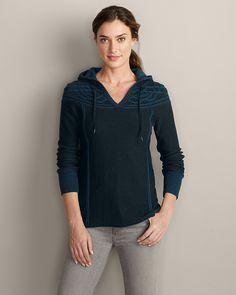 Mt. Shasta Cable Sweater | Eddie Bauer Navy, Medium -- My favorite!!