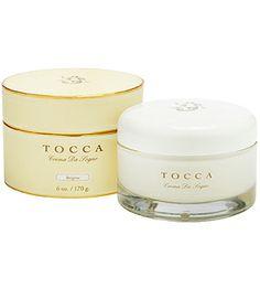 Tocca - Crema da Sogno - Brigitte (Papaya & Ginger) - 6 oz Glass Jar