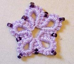 Learn the Art of Crochet Tatting for Free - Beaded Crotat