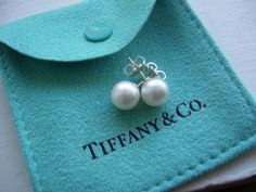 A simple pear of pearl earrings should be in every girls jewelry box!