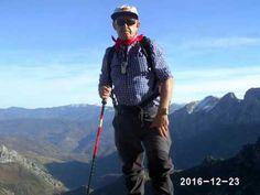 Miguel Montañeru de Alta Montaña el Solitariu en las Ubiñas