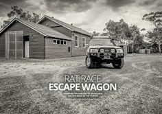 Rat Race Escape Wagon Nissan Patrol GU Feature — UNSEALED 4x4