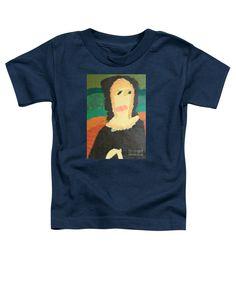 Patrick Francis Toddler T-Shirt featuring the painting Mona Lisa 2014 - After Leonardo Da Vinci by Patrick Francis
