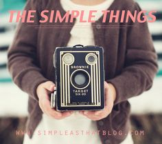 Share your simple moments with us on #SimpleThingsSunday. It's all about slowing down, living in the moment + capturing life's everyday details.