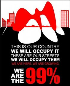 """This campaign uses logos as they bring up the 99% which we fall under. Saying we are the majority with """"stats"""""""