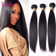 Malaysian Virgin Hair Straight 3 Bundles Cheap Human Hair Weave 7A Wet And Wavy Virgin Hair Extension Malaysian Wavy Virgin Hair
