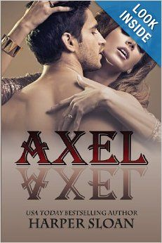 Axel (Corps Security) (Volume 1) by Harper Sloan. Izzy lived 6 years with her abusive husband because her heart died when the love of her life, Axel Reid left for the Marines, never to be heard from again. When Izzy finally feels like she is starting to live again, fate deals her another blow, one that will forever change her life, but can she move beyond her past to find love? Def a good read! 4 stars!