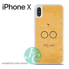 Harry Potter The Boy Who Loved Phone case for iPhone X