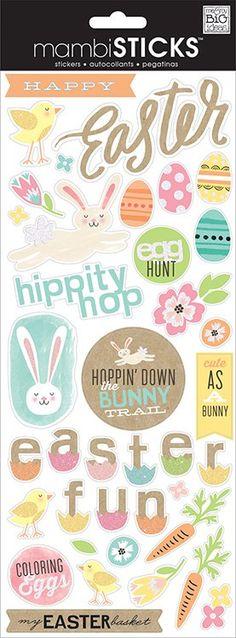 Me+and+My+Big+Ideas+-+MAMBI+Sticks+-+Stickers+-+Easter+Fun+at+Scrapbook.com