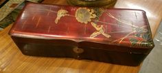 Oriental box, $48.  Gaslamp Antiques too, booth T114.