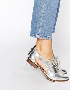 Image 1 - ASOS - MIGHT YOU - Chaussures de jazz en cuir à découpes