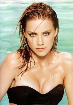Amber Heard - out as a lesbian.... HECK YEA! I will take 10 of her!