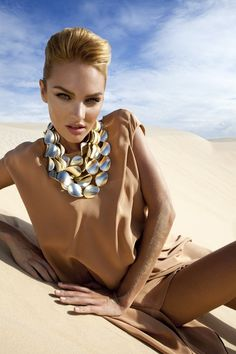 Vogue Brasil October 2011 Editorial - Candice Swanepoel