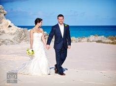 beautiful Bermuda wedding