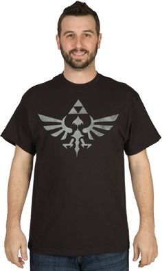 Distressed Zelda Tri-Force Shirt