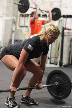 The Deadlift... what looks to be dominantly lower body is actually an all body exercise. Strengthen that back of yours through this 'staple diet' exercise.