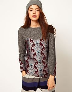 ASOS Africa Tunic with Print Detail