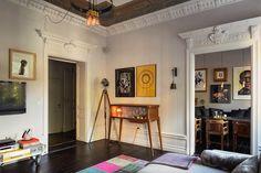 lovedesign.pl, scandinavian style, sztokholm, Szwecja, mieszkanie w starej kamienicy, Stockholm, styl skandynawski, art wall,
