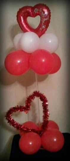 Bow tie balloon centerpiece parties and celebrations