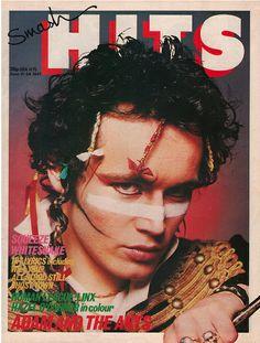 Smash Hits - Adam Ant June 11 - 24, 1981