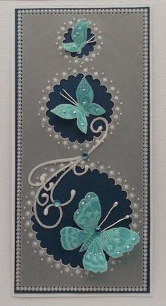Prace pergaminowe 2014 Paper Cards, Vellum Paper, Vellum Crafts, Parchment Design, Butterfly Cards, Butterfly Template, Butterfly Dragon, Monarch Butterfly, Parchment Cards