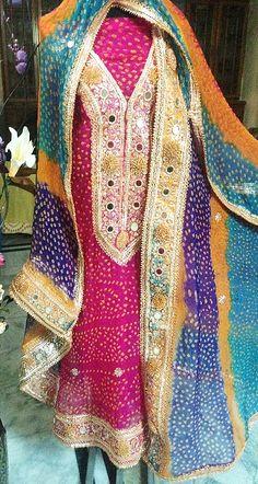 Shadi Dresses, Pakistani Dresses, Suits For Women, Clothes For Women, Ladies Suits, Jaipuri Suits, Gota Patti Suits, Rajputi Dress, Kurti Embroidery Design