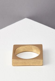 Square Metal Ring   Forever 21 - 1000053125