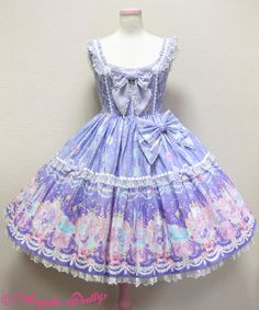Marine Kingdom JSK in pink (or any color) - Angelic Pretty
