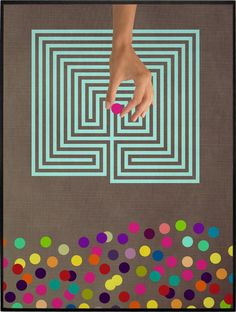 COLOR CHAOS COLLECTION -- LABYRINTH » Colagem