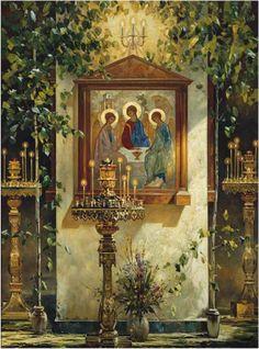 19 июня 2016 года — День Святой Троицы. Пятидесятница. С праздником братья и…