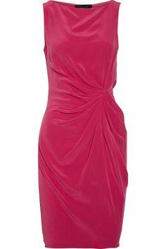 Thakoon Draped Dress: Made of washed crepe de chine silk. #Dress #Thakoon #theoutnet