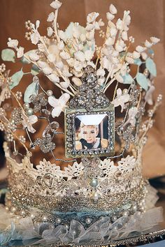 glitz and glamour crown - via sweet eye candy creations