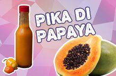 Pika di papaya - papaya hot sauce uit Aruba - recept via antilliaans-eten. Caribbean Recipes, Caribbean Food, Aruba Food, Hot Sauce Recipes, Tartar Sauce, Dips, Food And Drink, Bbq Sauces, Fruit