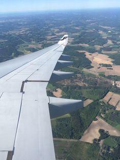 Preparing to land in Helsinki... #travel #finnair #finland #scandinavia #europe…
