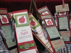 Notes for Teacher by stampaholic17 - Cards and Paper Crafts at Splitcoaststampers