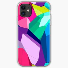 #crystal #stone #multicolor #colorful #crystalpattern #brightbackground #simplepattern #gems #geometrical #forms #shapes #iphonecase #findyourthing