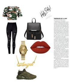 """""""Urban"""" by escod on Polyvore featuring WithChic, NIKE, Nixon and Lime Crime"""