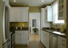 Cheap Kitchen Remodel On Pinterest Kitchen Remodeling Kitchens And Galley