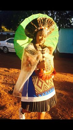 #Isibaya #Thandeka #Traditional Zulu Traditional Attire, Zulu Traditional Wedding, African Traditional Dresses, Traditional Outfits, African Attire, African Wear, African Women, African Dress, Africa Fashion
