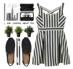 """""""Curious about you"""" by navisya ❤ liked on Polyvore featuring TOMS and Coach"""