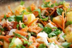 Tuna Salad with Pineapple