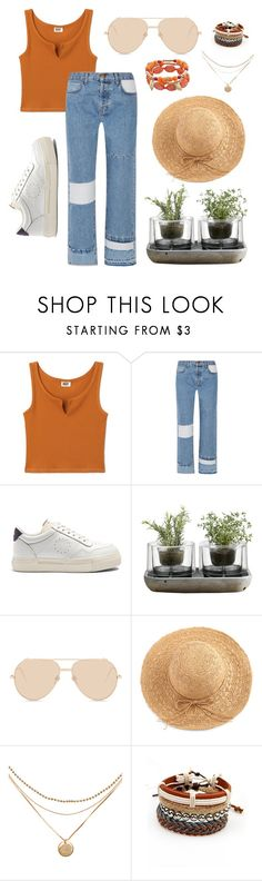 """""""eighteen"""" by bb-astrid ❤ liked on Polyvore featuring Current/Elliott, Eytys, Nude, Linda Farrow and WithChic"""