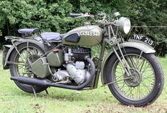 BSA M20 Country: U.K. Year introduced: 1937 War: WWII for British