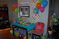 Monsters Inc. party ideas