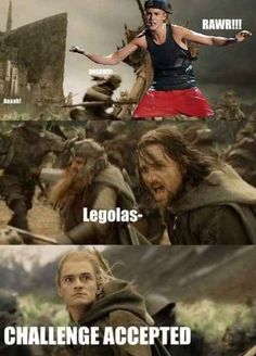 Best Aragorn and Legolas memes (+some Hobbit memes) Into The West, Into The Fire, Martin Freeman, Fandoms, Justin Bieber, The Lord Of The Rings, O Hobbit, J. R. R. Tolkien, Narnia