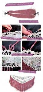como hacer mantoncillo flamenca 4 142x300 Como hacer un mantoncillo de flamenca DIY
